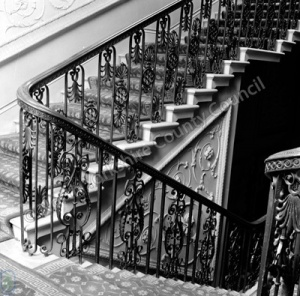 Ironwork Staircase, Harewood House